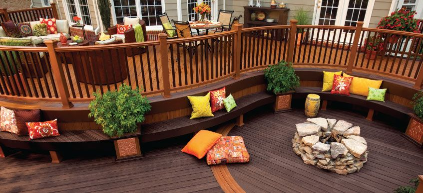 Trex composite decking trex decking deck material pvc deck for Best composite decking brand 2016